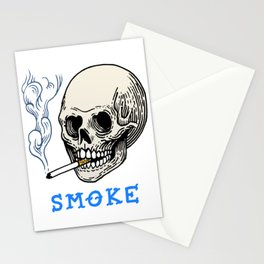 S M O K E Stationery Cards
