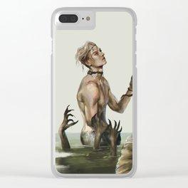 Merman Clear iPhone Case