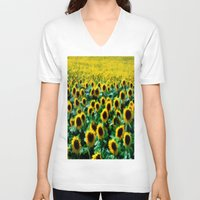 infinity V-neck T-shirts featuring Infinity by Robin Curtiss