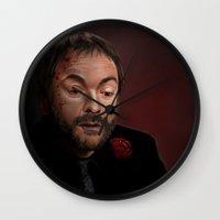 crowley Wall Clocks featuring Crowley by San Fernandez