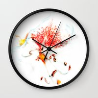 soul Wall Clocks featuring Soul. by Mary Berg