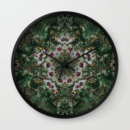 Multifacetted Kaleidoscope 6 Wall Clock