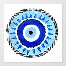 Occhio di Allah, Nazar Boncuk Canvas Print