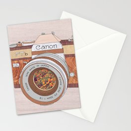 WOOD CAN0N Stationery Cards