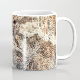 Chameleon With Sinister Facial Expression Coffee Mug