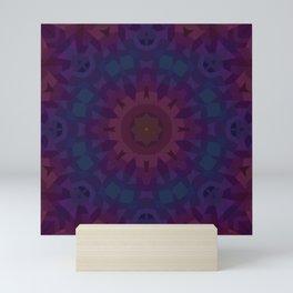 Quilt Mandala Mini Art Print