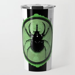 Juicy Beetle GREEN Travel Mug