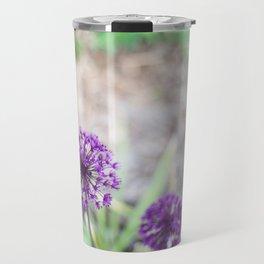 Purple Allium Travel Mug