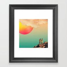 Honey, Look! Framed Art Print