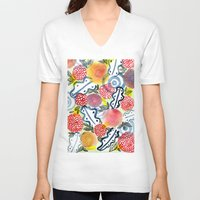 fantasy V-neck T-shirts featuring fantasy by Young Ju