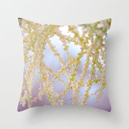 Palm seed pod Throw Pillow