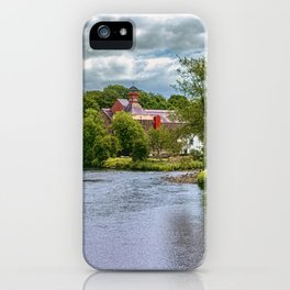 The River Derwent At Cockermouth iPhone Case