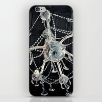 chandelier iPhone & iPod Skins featuring Chandelier  by Daisy Flores