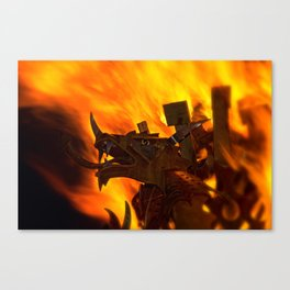 Rising From The Flames Canvas Print