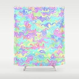 Colorful Rainbow Shower Curtain