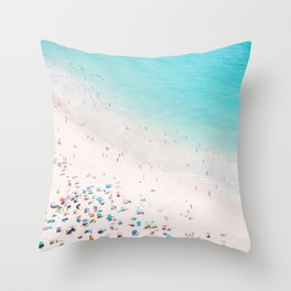 Beach Loving Throw Pillow