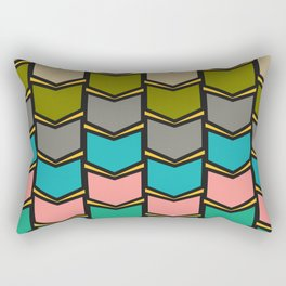 Decor in shapes and colors Rectangular Pillow