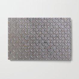 Metal steel cover Metal Print