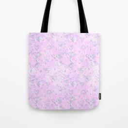 Flying Phallus Print Tote Bag