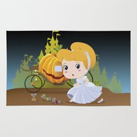 cinderella Area & Throw Rugs featuring Cinderella by 7pk2 online