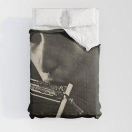 Vintage 1966 Bob Dylan Norfolk Virginia Concert Poster Comforters