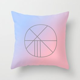 I Have Peace Sigil Throw Pillow