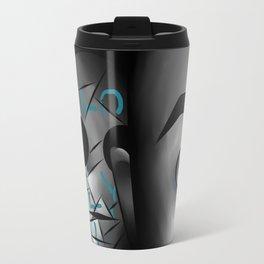 I Love You - Blue Travel Mug