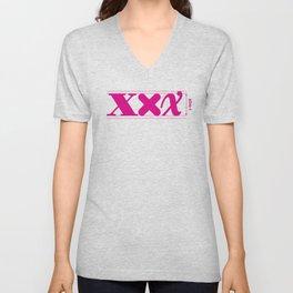 XXX-height. Unisex V-Neck