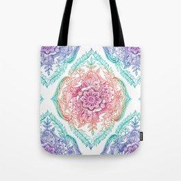 Indian Ink - Rainbow version Tote Bag