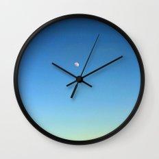 Moon and Sky Wall Clock