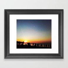 July Morning Framed Art Print