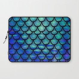 Ocean Mermaid scales Laptop Sleeve