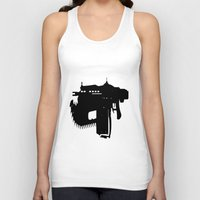gears of war Tank Tops featuring gears of war lancer silhouette by jjb505
