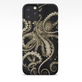 Octopsychedelia Sepia iPhone Case