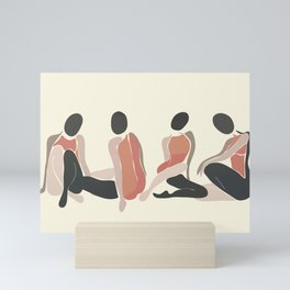Woman Forms Mini Art Print