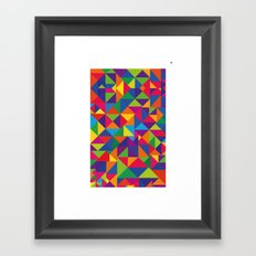 Cores Framed Art Print