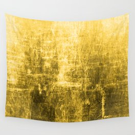 SunYellowTextured & Distressed Design Wall Tapestry