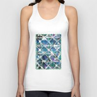 grid Tank Tops featuring The Grid by mimulux