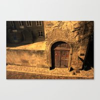 door Canvas Prints featuring door by Crazy Thoom