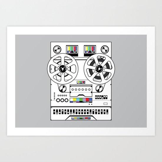 1 kHz #6 Art Print