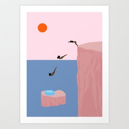 Dive//Survive Art Print