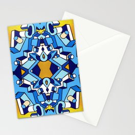 Cock (Chopped) Stationery Cards