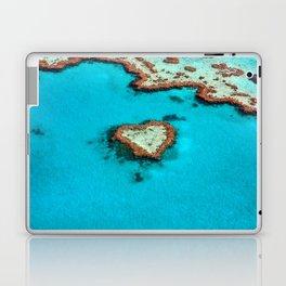 Heart Coral Reef - Queensland, Australia Laptop & iPad Skin