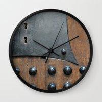 door Wall Clocks featuring Door by constarlation