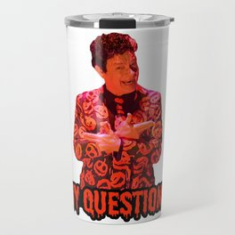 David S. Pumpkins - Any Questions? II Travel Mug
