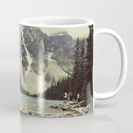 Moraine Lake Adventure Coffee Mug