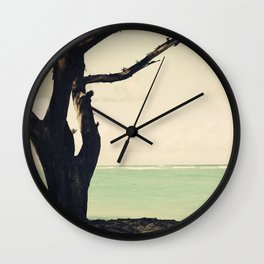 Forever is composed of nows Wall Clock