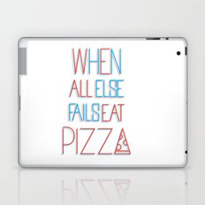 backup plan: pizza Laptop & iPad Skin