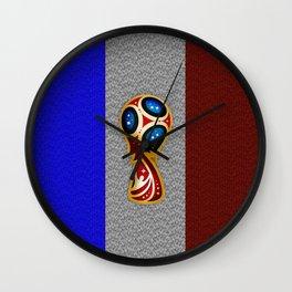 World Cup Champion Wall Clock