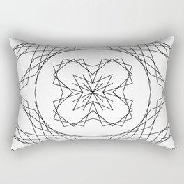 Geometric #4b Rectangular Pillow